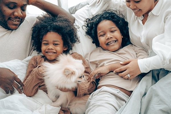 Consider him as a family member - How to Be a Good Pet Owner
